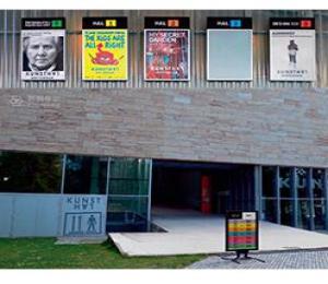 【标识案例欣赏】荷兰鹿特丹艺术展览馆